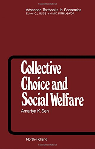 9780444851277: Collective Choice and Social Welfare (Advanced Textbooks in Economics)