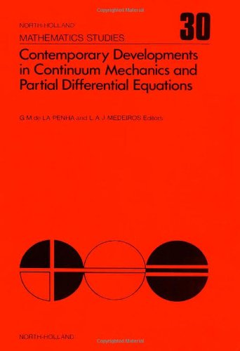 Contemporary Developments in Continuum Mechanics and Partial