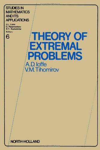 9780444851673: Theory of extremal problems (Studies in mathematics and its applications)