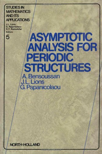 9780444851727: Asymptotic Analysis for Periodic Structures (Studies in mathematics and its applications)