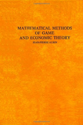 9780444851840: Mathematical Methods of Game and Economic Theory