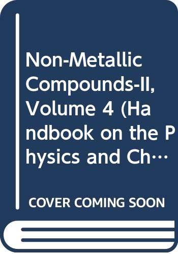 9780444852168: Handbook on the Physics and Chemistry of Rare Earths: Non-Metallic Compounds: 4