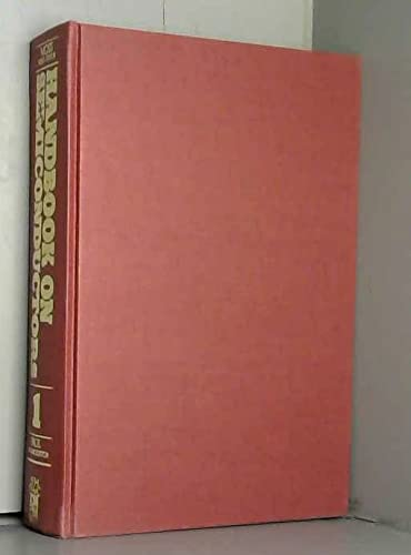 9780444853462: Handbook on Semiconductors: Band Theory and Transport Properties v. 1