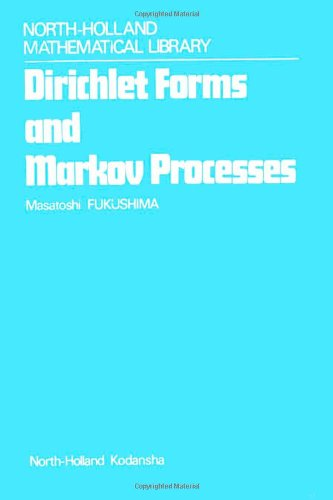 9780444854216: Dirichlet Forms and Markov Processes (North-Holland mathematical library)