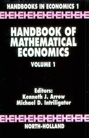 9780444860545: Handbook of Mathematical Economics