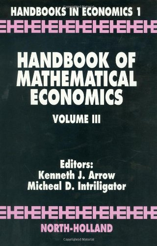 9780444861283: Handbook of Mathematical Economics, Volume 3