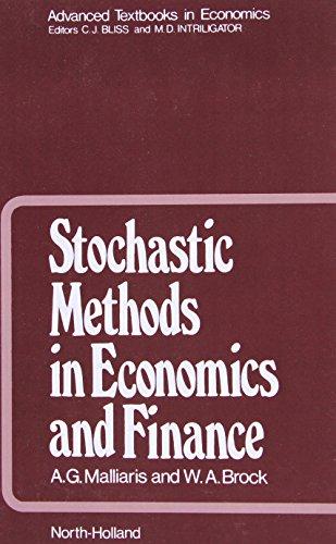 9780444862013: Stochastic Methods in Economics and Finance, Volume 17 (Advanced Textbooks in Economics)