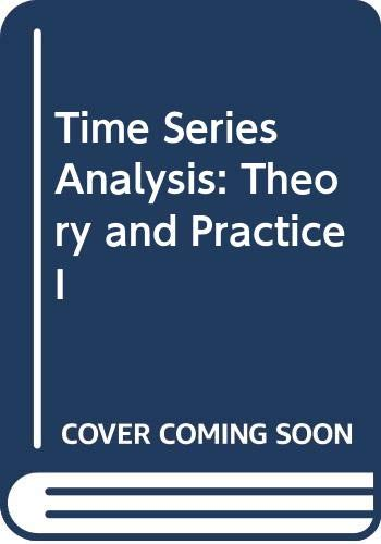 9780444863379: Time Series Analysis: Theory and Practice I