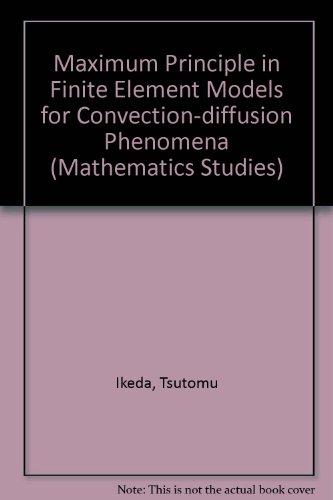 Maximum Principle in Finite Element Models for: Ikeda, Tsutomu