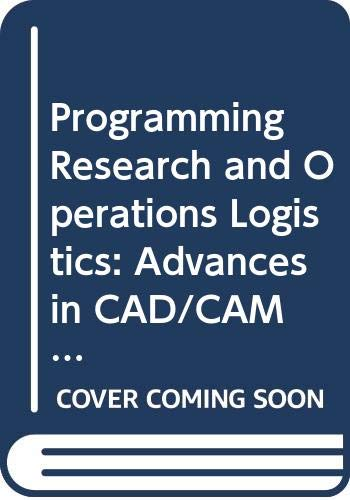 Programming Research and Operations Logistics: Advances in: n/a