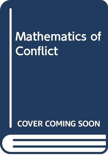9780444866783: Mathematics of Conflict (North-Holland systems and control series)