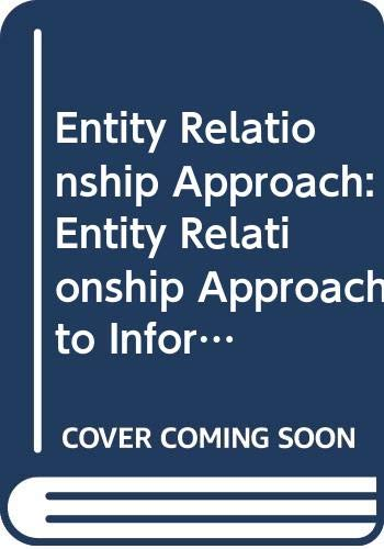 9780444867476: Entity Relationship Approach: Entity Relationship Approach to Information Modelling and Analyses 2nd: International Conference Proceedings