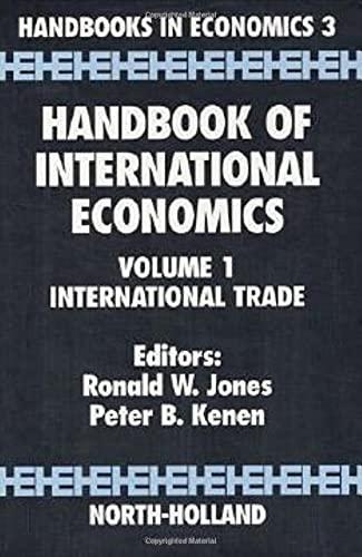 9780444867926: Handbook of International Economics: International Trade: 1