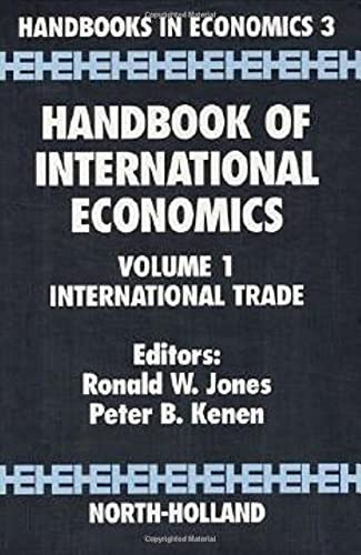 Handbook of International Economics: International Trade