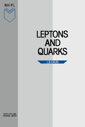 9780444869241: Leptons and Quarks (English and Russian Edition)