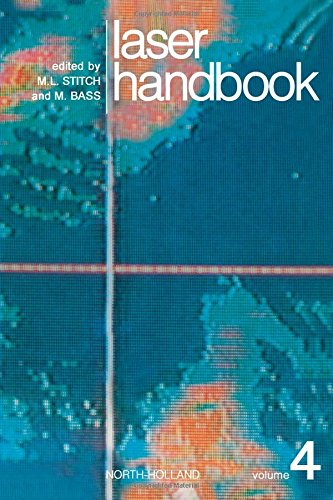 9780444869272: Laser Handbook, Vol. 4