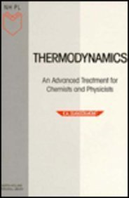 9780444869517: Thermodynamics: An Advanced Treatment for Chemists and Physicists