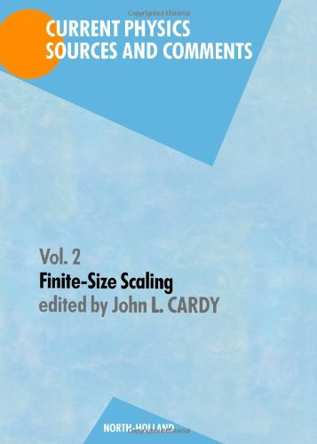 9780444871091: Finite-size Scaling (Current physics)
