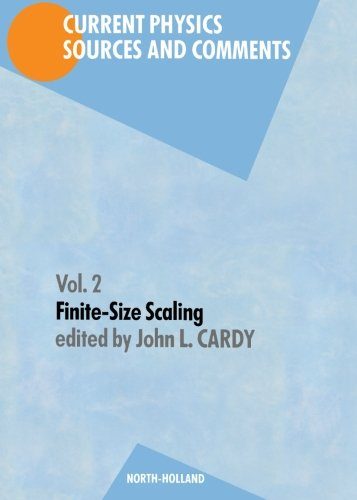 9780444871107: Finite-Size Scaling (Current Physics - Sources & Comments)
