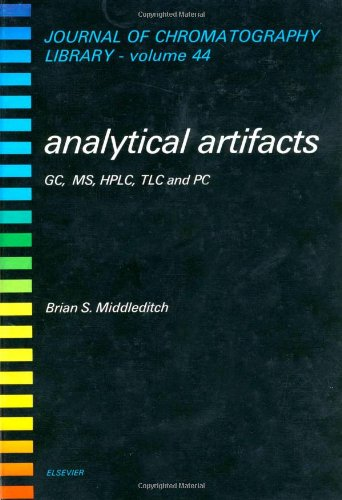 9780444871589: Analytical Artifacts: Gc, MS, Hplc, Tlc, and PC (JOURNAL OF CHROMATOGRAPHY LIBRARY)