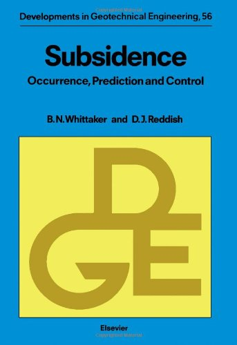 9780444872746: Subsidence: Occurrence, Prediction and Control (Developments in Geotechnical Engineering)