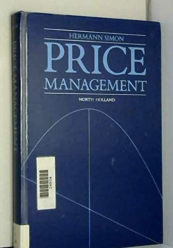 9780444873279: Price Management