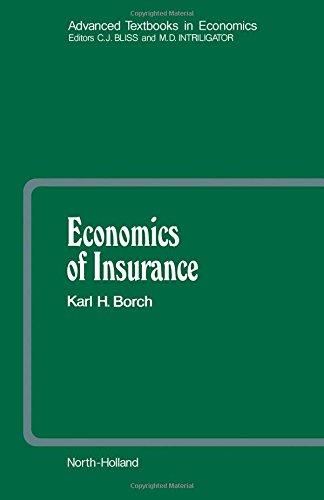 9780444873446: Economics of Insurance (Advanced Textbooks in Economics)