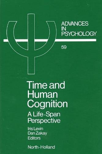 9780444873798: Time and Human Cognition: A Life Span Perspective