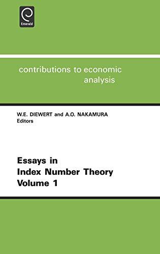 Essays in Index Number Theory: Diewert W. E. Diewert
