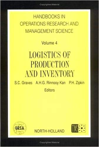 9780444874726: Logistics of Production and Inventory, Volume 4 (Handbooks in Operations Research and Management Science)