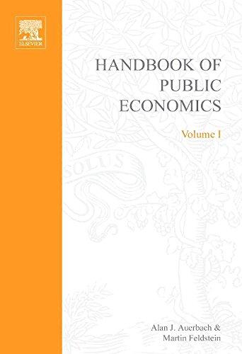 9780444876126: Handbook of Public Economics, Volume 1 (North-Holland Mathematical Library)