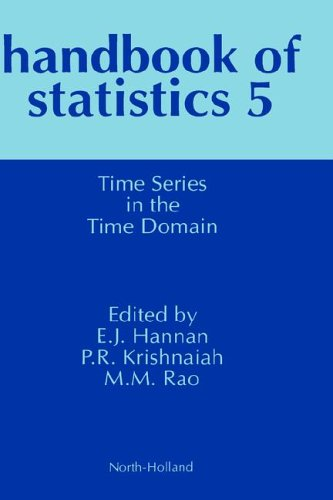 9780444876294: Time Series in the Time Domain, Volume 5 (Handbook of Statistics) (Vol 5)