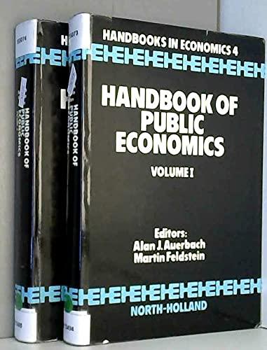 9780444876676: Handbook of Public Economics (Handbooks in economics)