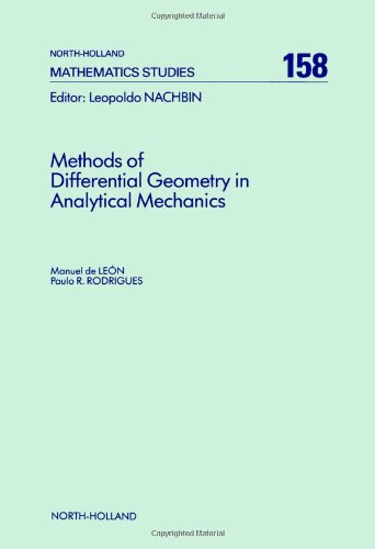9780444880178: Methods of Differential Geometry in Analytical Mechanics (North-Holland Mathematics Studies)