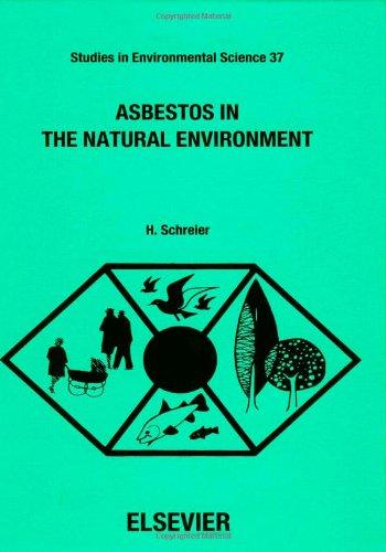 9780444880314: Asbestos in the Natural Environment (Studies in Environmental Science)
