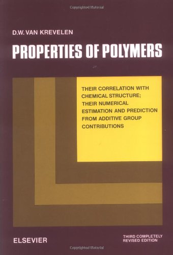 9780444881601: Properties of Polymers