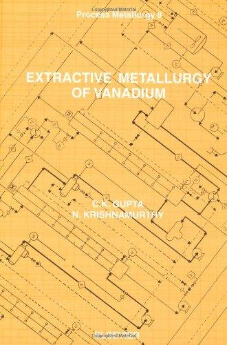 9780444882523: Extractive Metallurgy of Vanadium (Process Metallurgy)