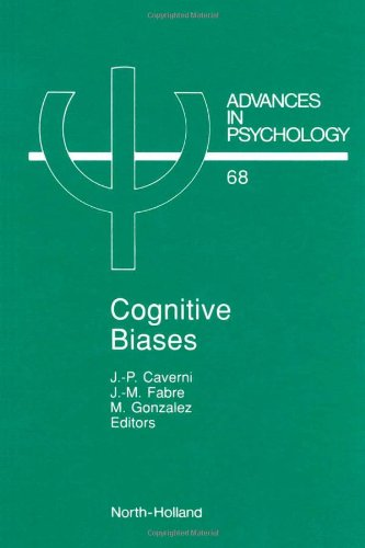 9780444884138: Cognitive Biases