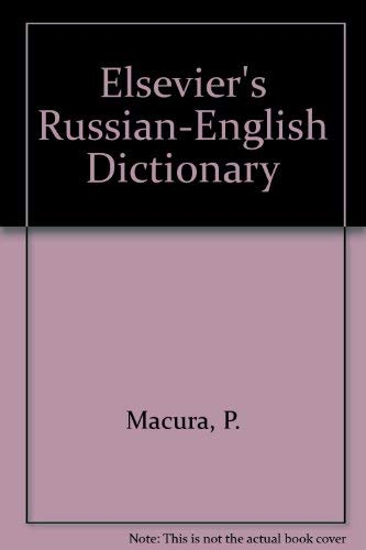 9780444884671: Elsevier's Russian-English Dictionary