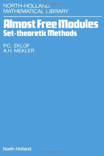 9780444885029: Almost Free Modules: Set-theoretic Methods (North-Holland Mathematical Library)