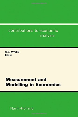 9780444885159: Measurement and Modelling in Economics