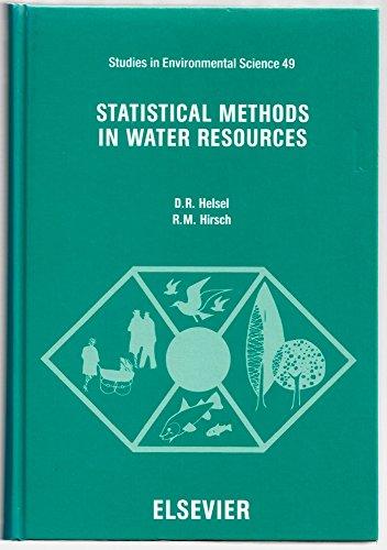 Statistical Methods in Water Resources (Studies in Environmental Science): Helsel, Dennis R.; ...