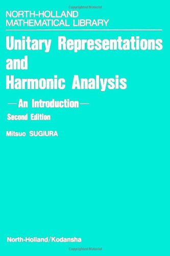 9780444885937: Unitary Representations and Harmonic Analysis