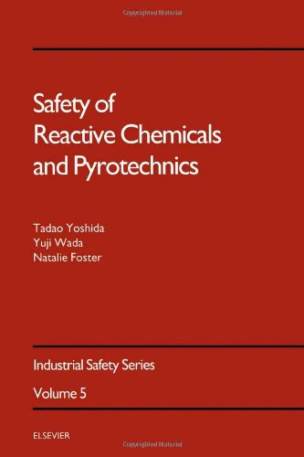 9780444886569: Safety of Reactive Chemicals and Pyrotechnics (Industrial Safety Series)