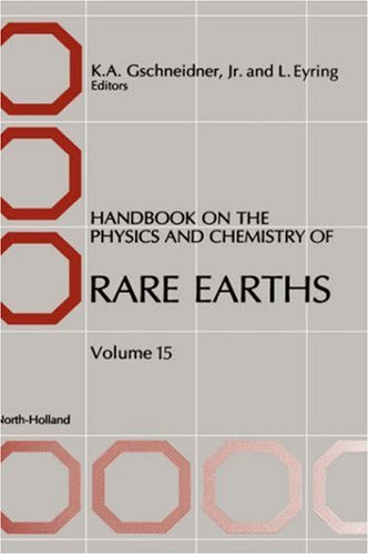 9780444889669: Handbook on the Physics and Chemistry of Rare Earths, Volume 15