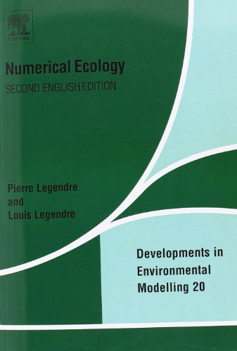 9780444892508: Numerical Ecology, 2nd Edition (Developments in Environmental Modelling, Vol. 20)