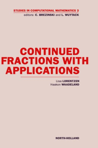 9780444892652: Continued Fractions with Applications (Studies in Computational Mathematics)