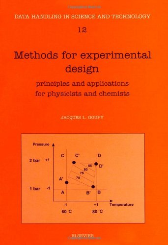 9780444895295: Methods for Experimental Design: Principles and Applications for Physicists and Chemists (Data Handling in Science & Technology)