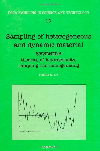 9780444896018: Sampling of Heterogeneous and Dynamic Material Systems: Theories of Heterogeneity, Sampling and Homogenizing (Data Handling in Science and Technology)