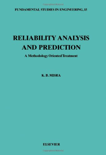 9780444896063: Reliability Analysis and Prediction: A Methodology Oriented Treatment (Fundamental Studies in Engineering)